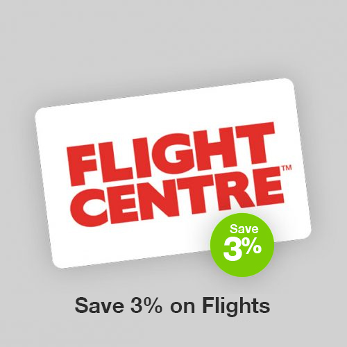 Flight Centre Discount Gift Card
